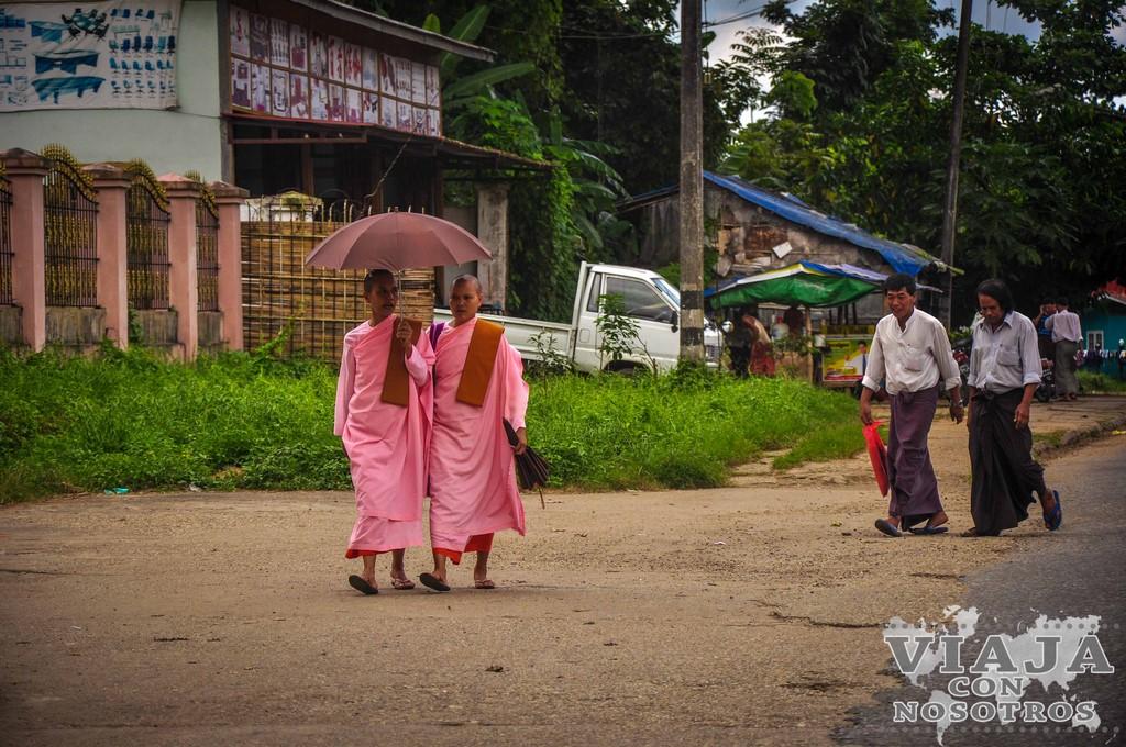 Como ir de Bagan a Yangon