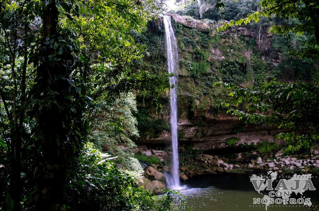 Cascadas Misol Ha en Palenque
