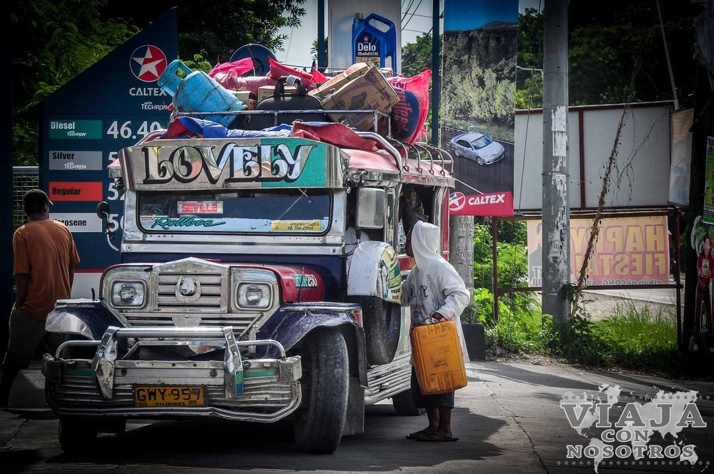 itinerario de viaje a Filipinas