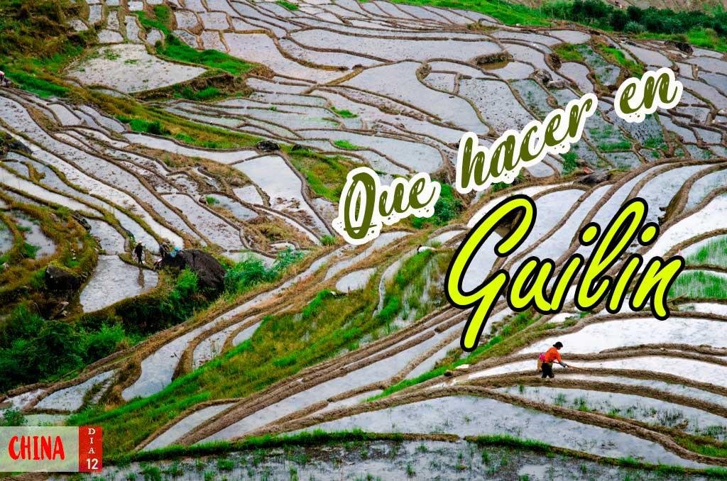Que ver en los alrededores de Guilin