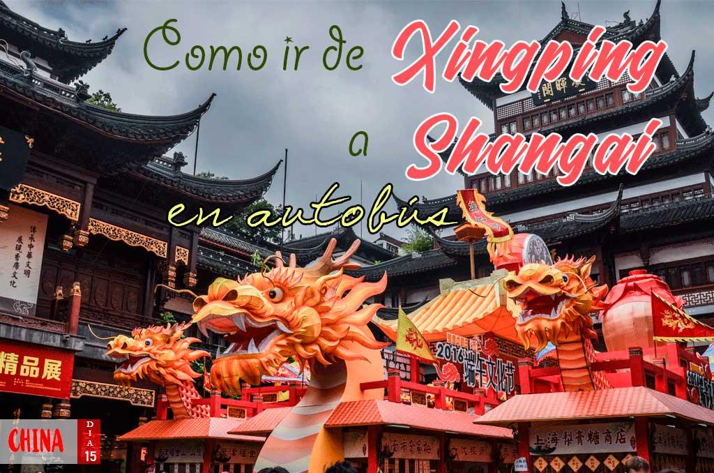 Como ir de Xingping a Shangai