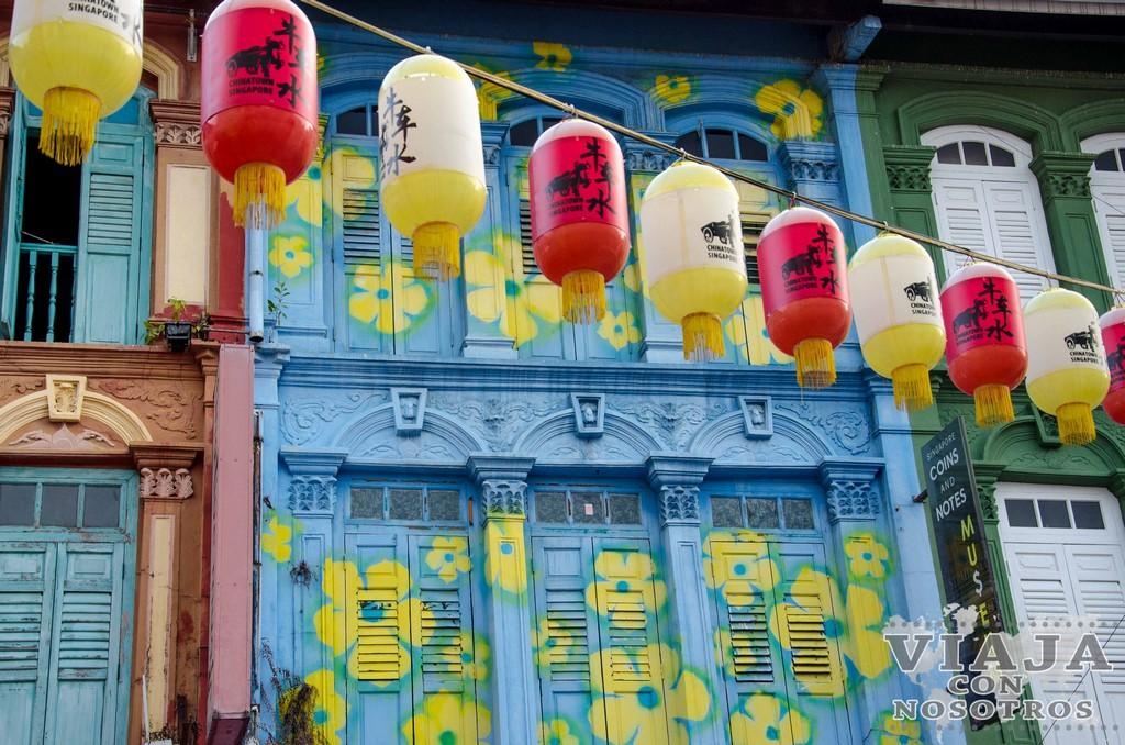 Barrio Chinatown en Singapur