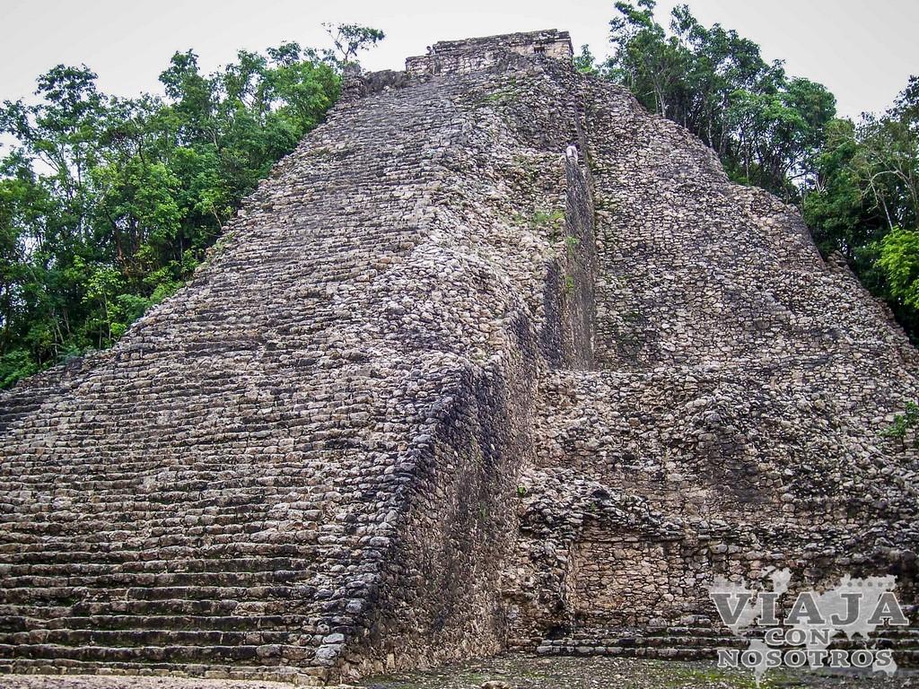 Como llegar a las ruinas de Cobá por libre
