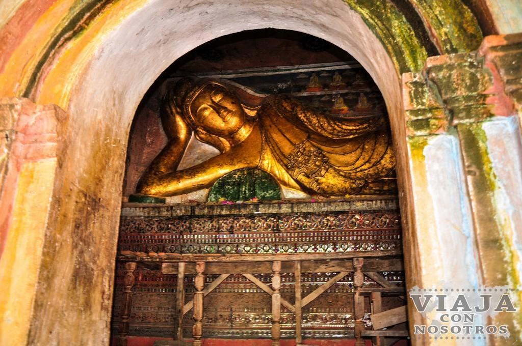 Las Cuevas de Phawintaung de Monywa