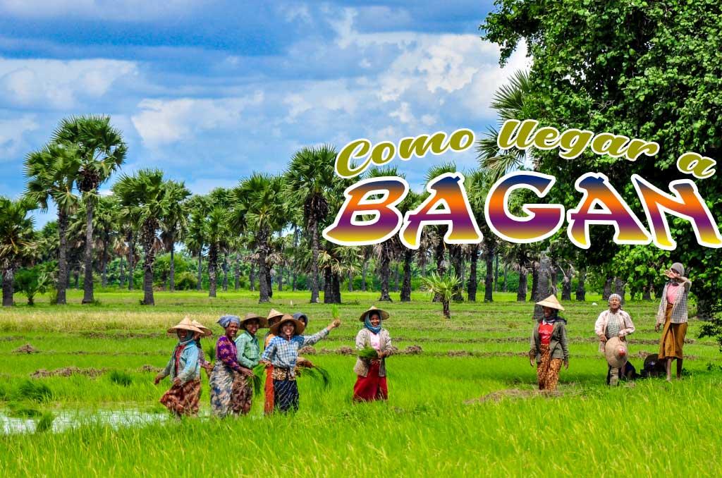 Como ir de Monywa a Bagan