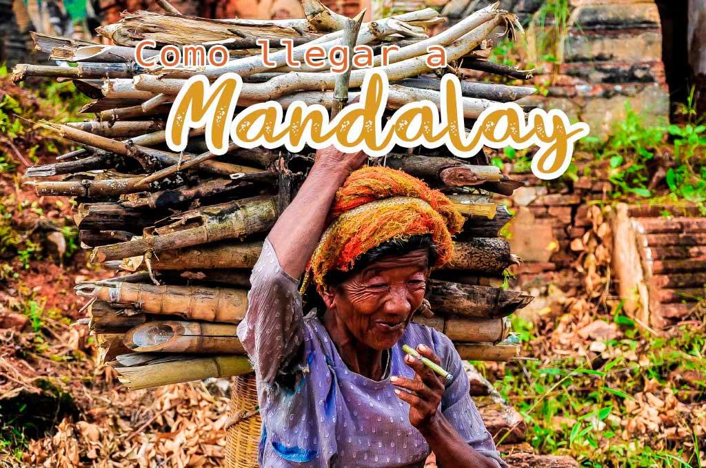 Como llegar del Lago Inle a Mandalay
