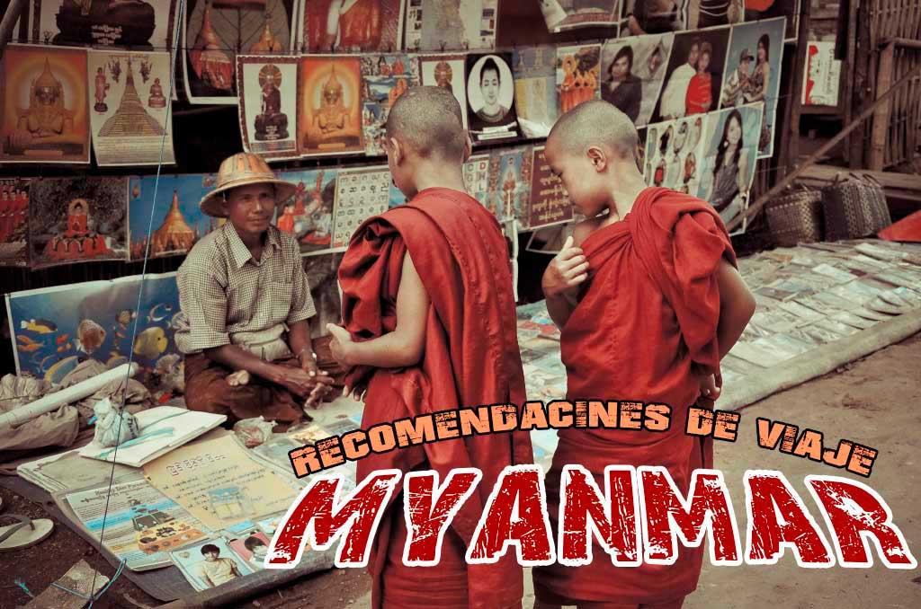 Guía de viaje de Myanmar