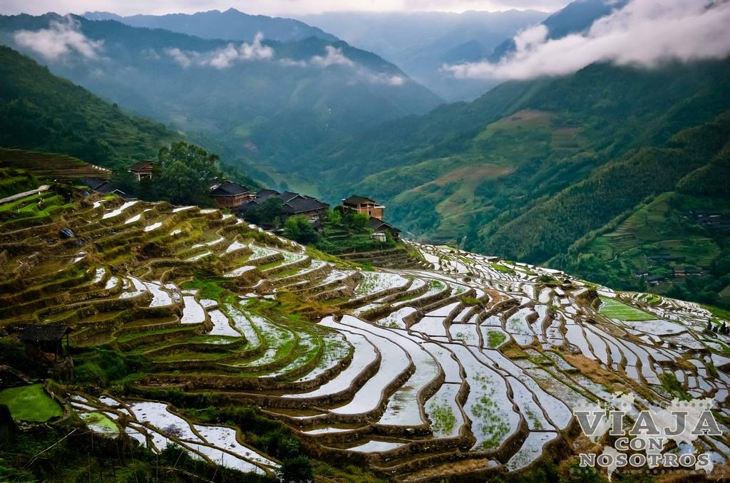 Como visitar los arrozales del El Espinazo del Diablo