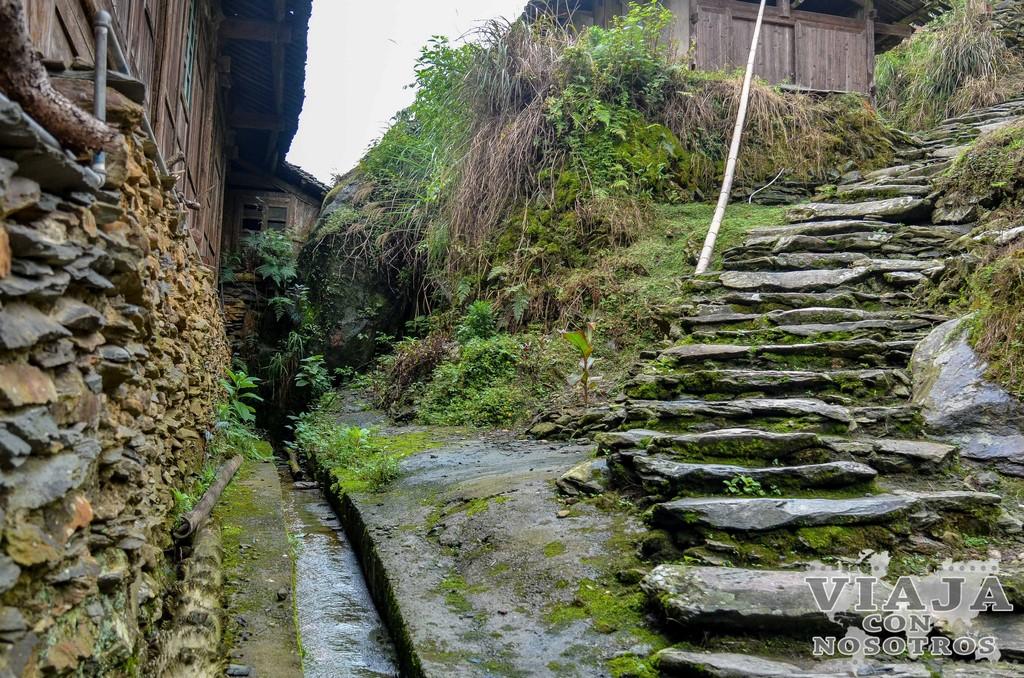 Visitar el Poblado Huangluo