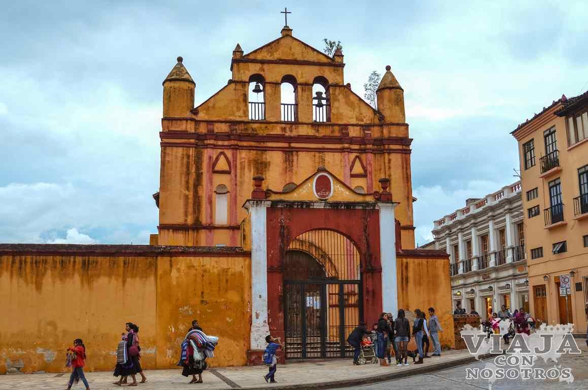 Iglesia de San Nicolás en San Cristóbal de Las Casas