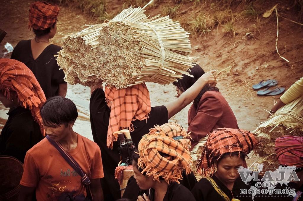 Mejor manera para moverse por Myanmar