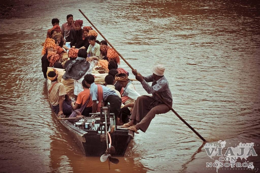 Como llegar del Lago Inle a Mandala por libre