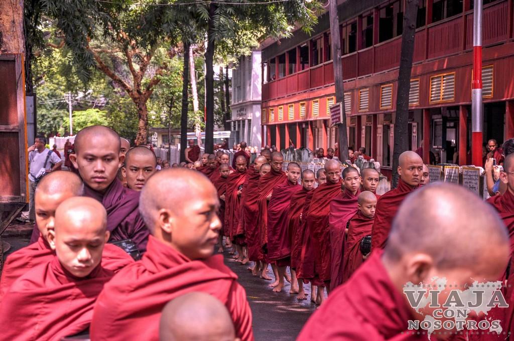 Guía de los templos de Mandalay