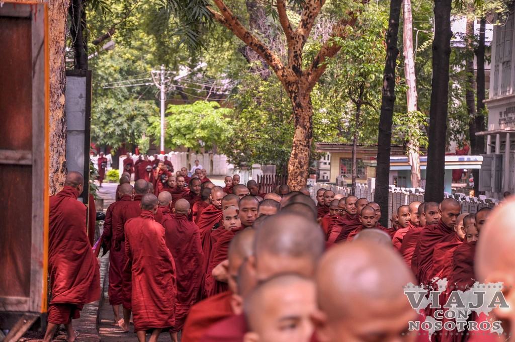 Como moverse por Mandalay