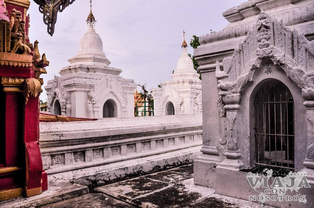 La Pagoda Kuthadaw de Mandalay