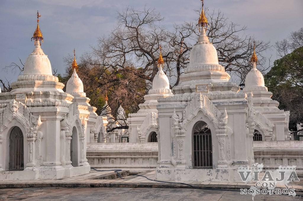 Ruta para viajar a Mandalay
