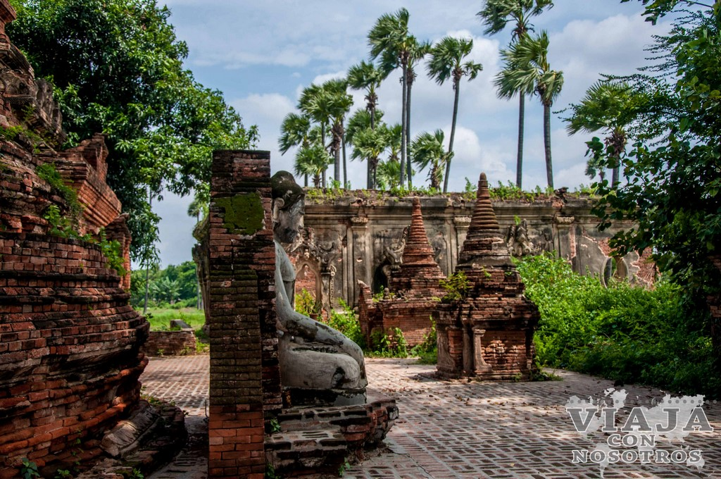 La Pagoda de Yadanasini o la Pagoda de Yadana Hsemee de Mandalay