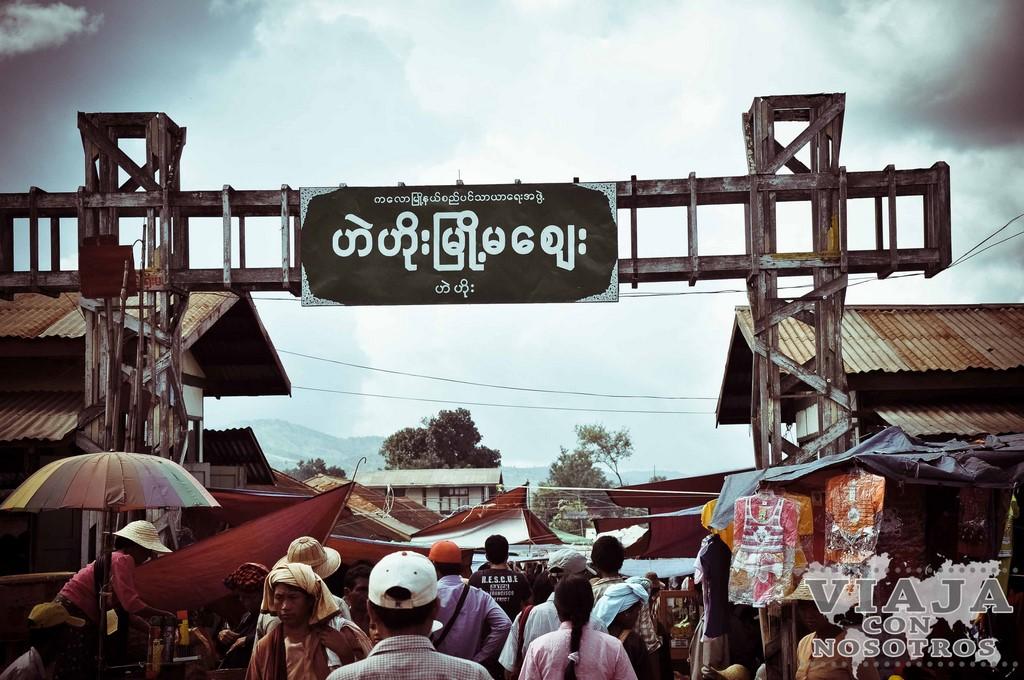 Como ir de Yangon al Lago Inle en transporte público