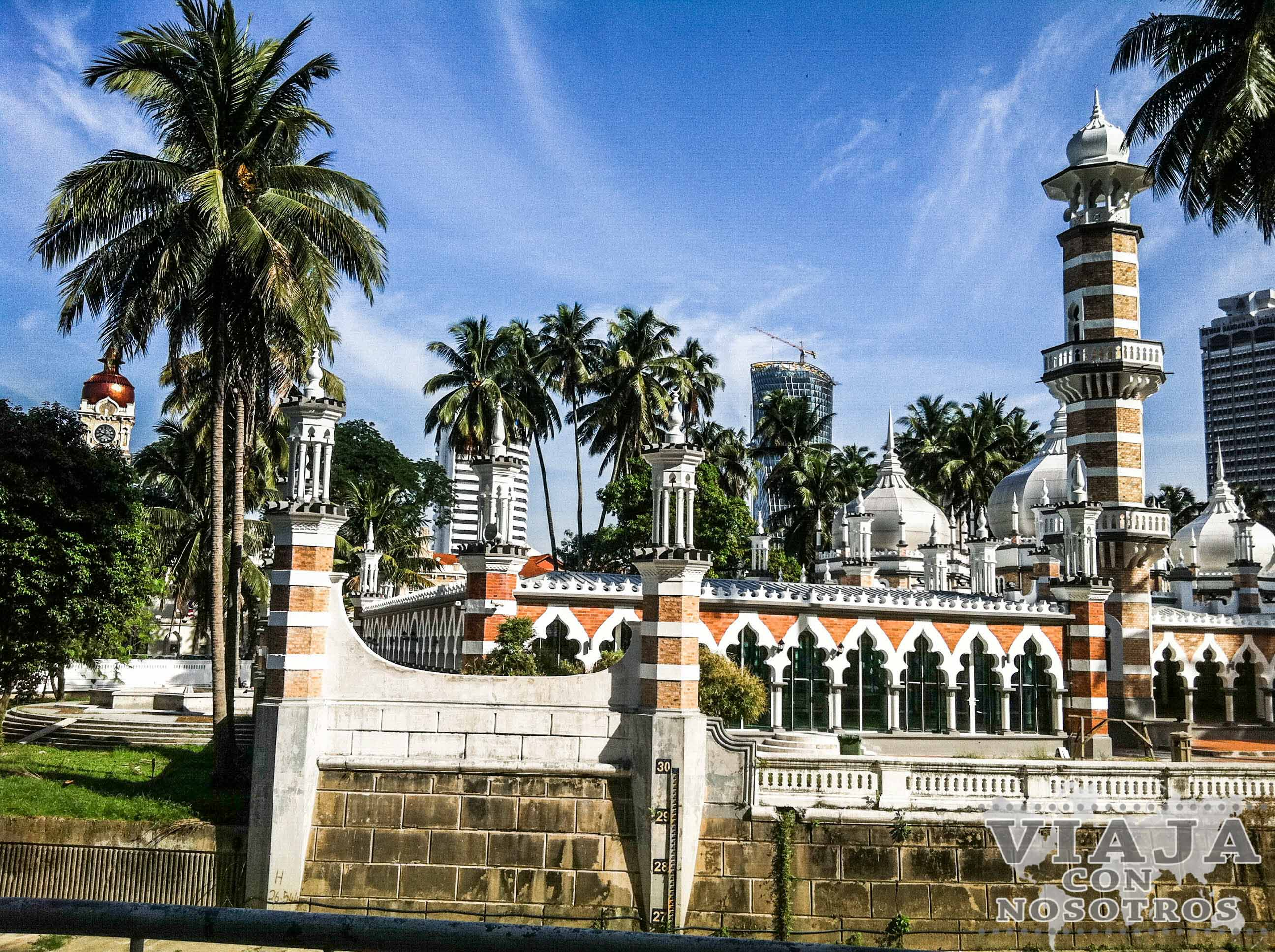 Mezquita Masijd Jamek Kuala Lumpur