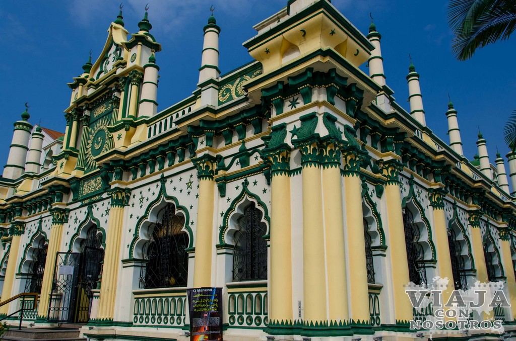 Mezquita Masjid Abdul Gaffoo de Singapur