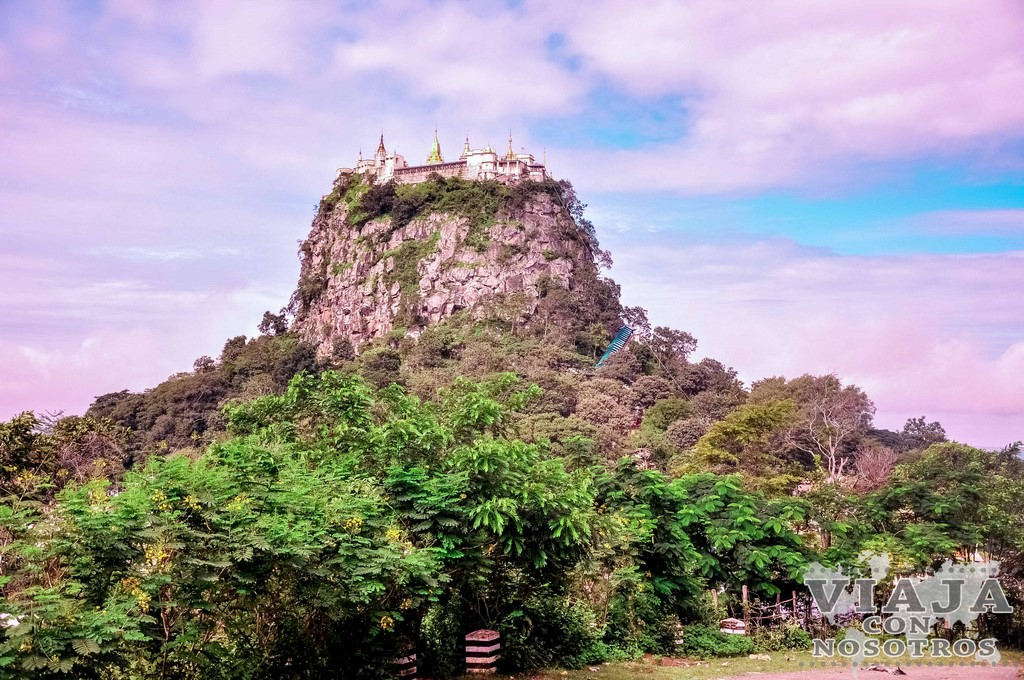 El Monasterio Taung Kalat