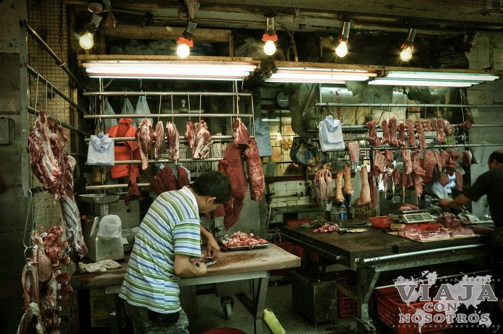 Mercados para visitar en Hong Kong