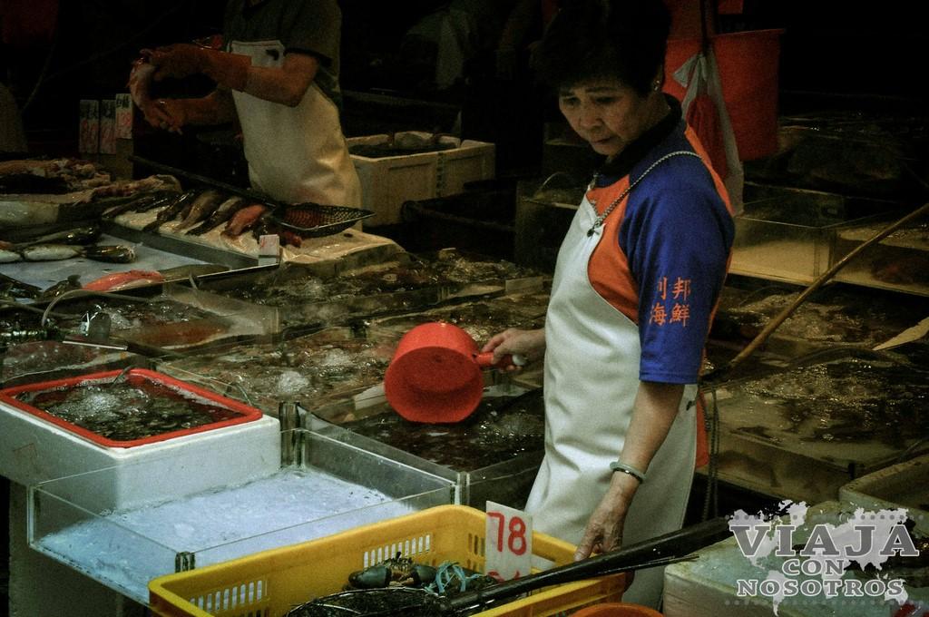 Mejores mercados para visitar en Hong Kong