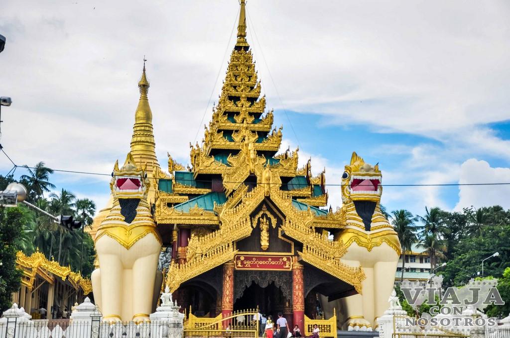 La Pagoda Shwedagon de Yangon