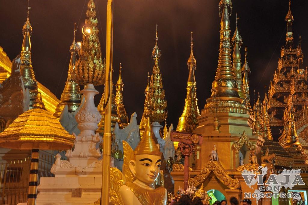Las mejores pagodas que ver en Yangon