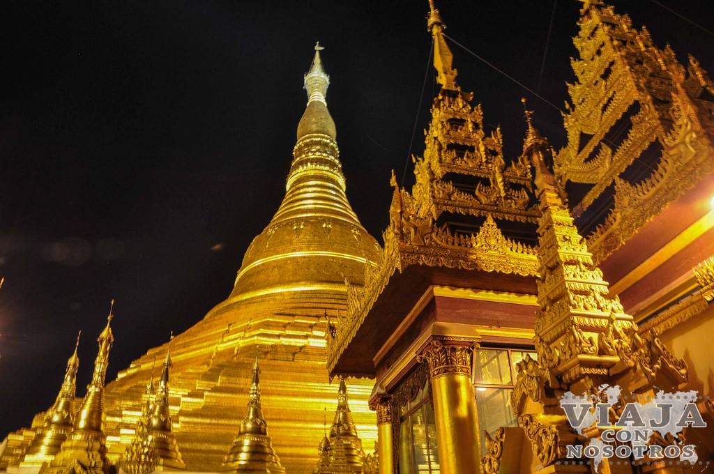 Guía de las Pagodas de Yangon
