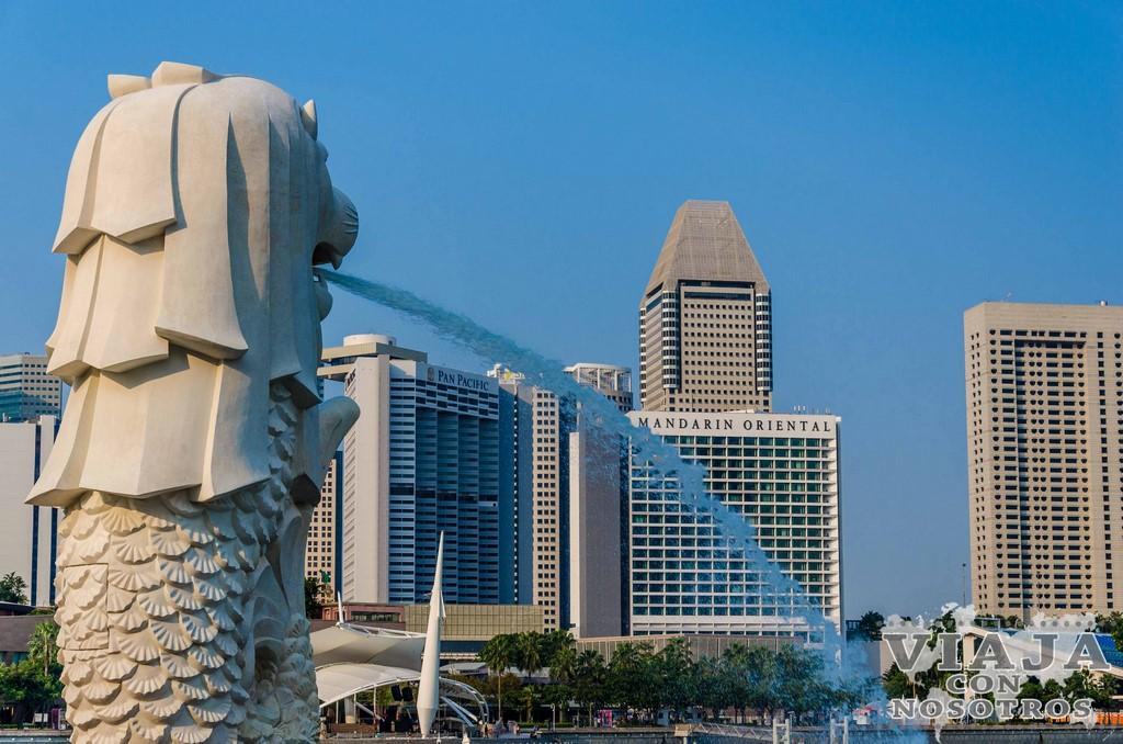 Paque de Merlion de Singapur