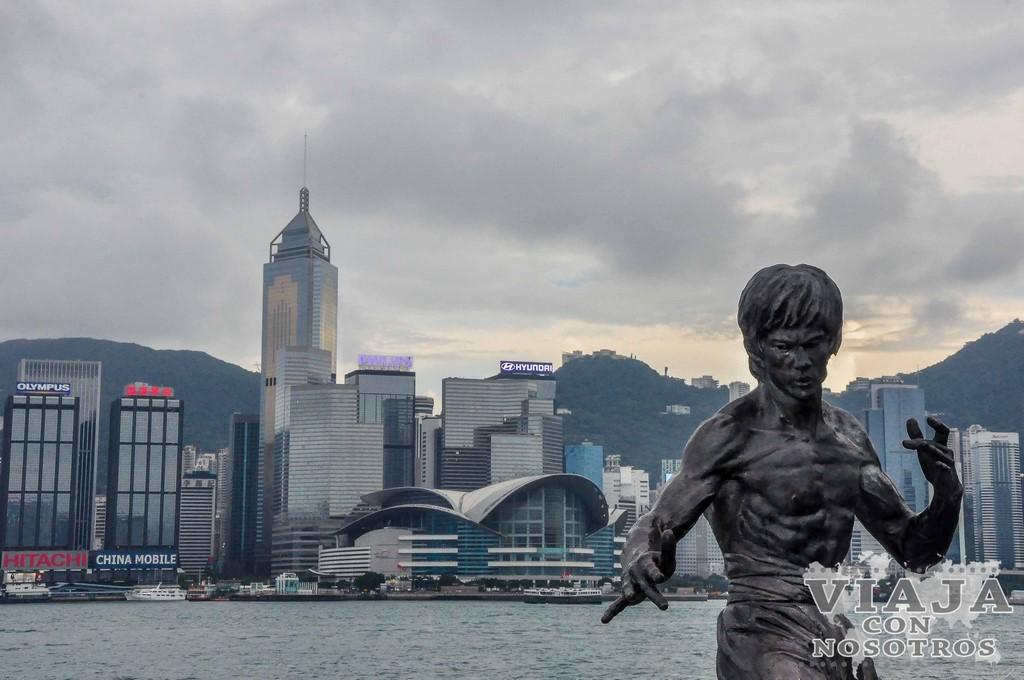 Visitar el Paseo de las estrellas de Hong Kong
