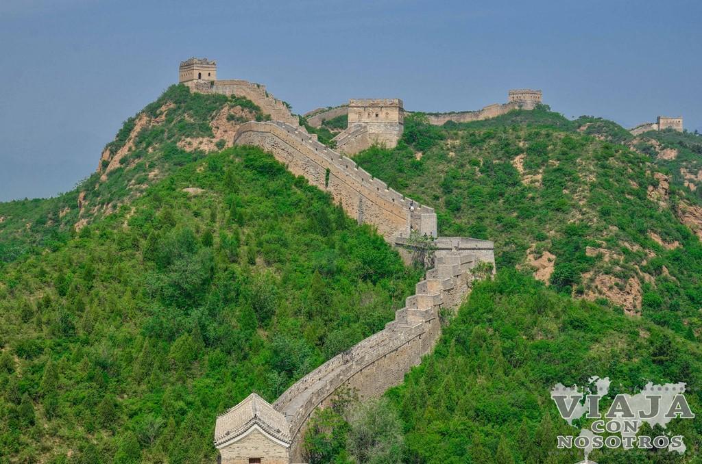 Visita la Gran Muralla China por tu cuenta