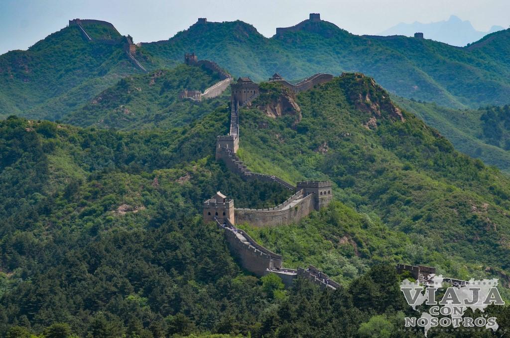 Visitar la Gran Muralla China en transporte público