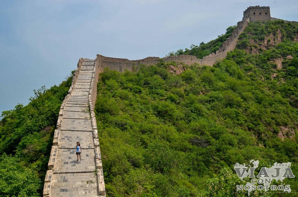 Visitar la Gran Muralla China en Simatai