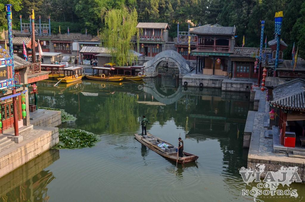 Como llegar al Palacio de Verano de Pekín en transporte público