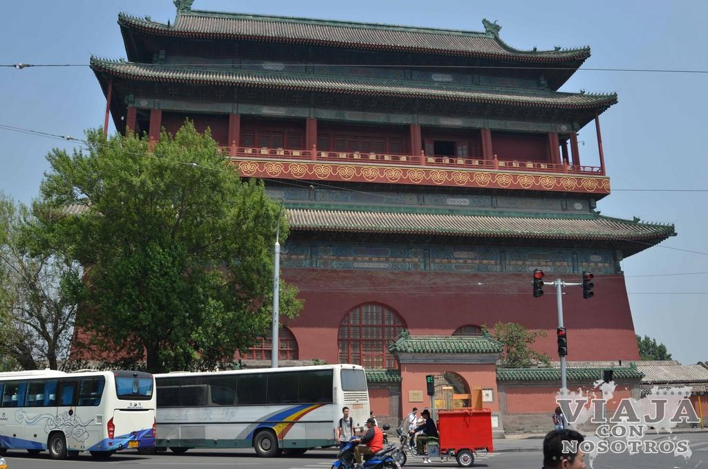 Como moverse por Pekín en transporte público