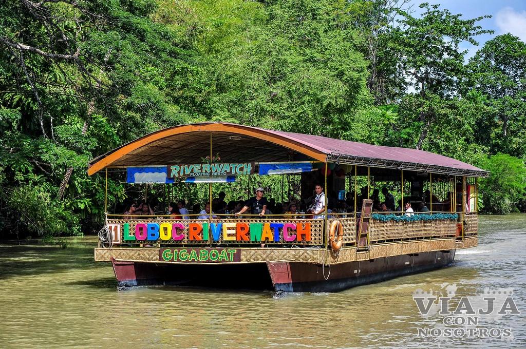 Navegar por el Río Lomboc