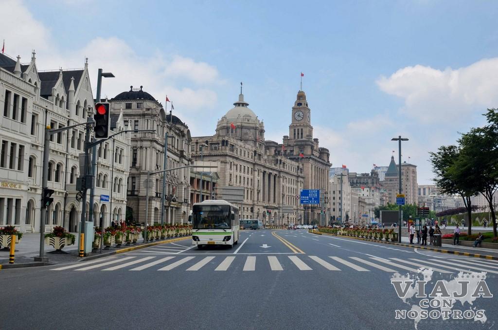 Transporte público en Shanghái