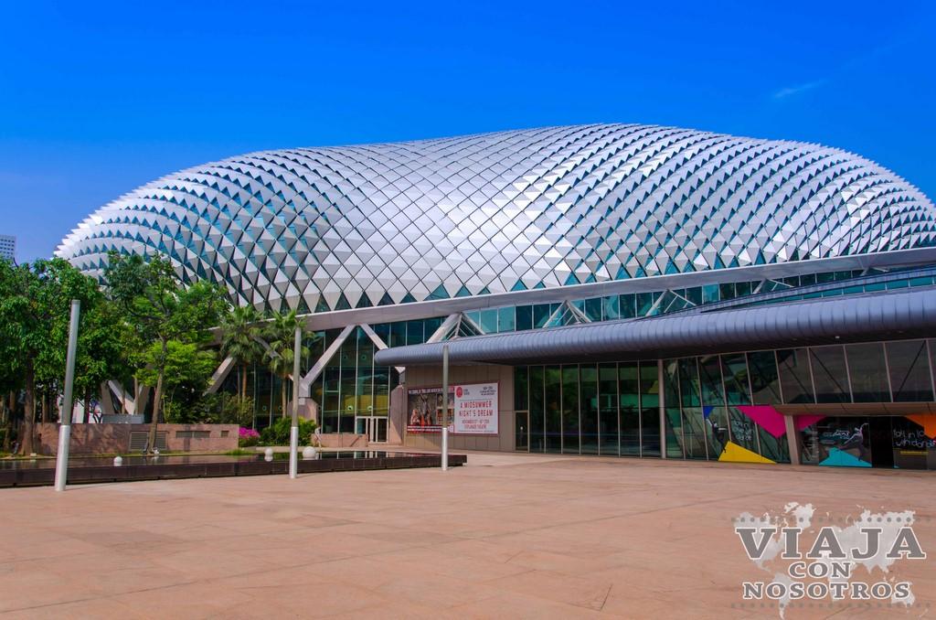 Teatro Esplanade de Singapur