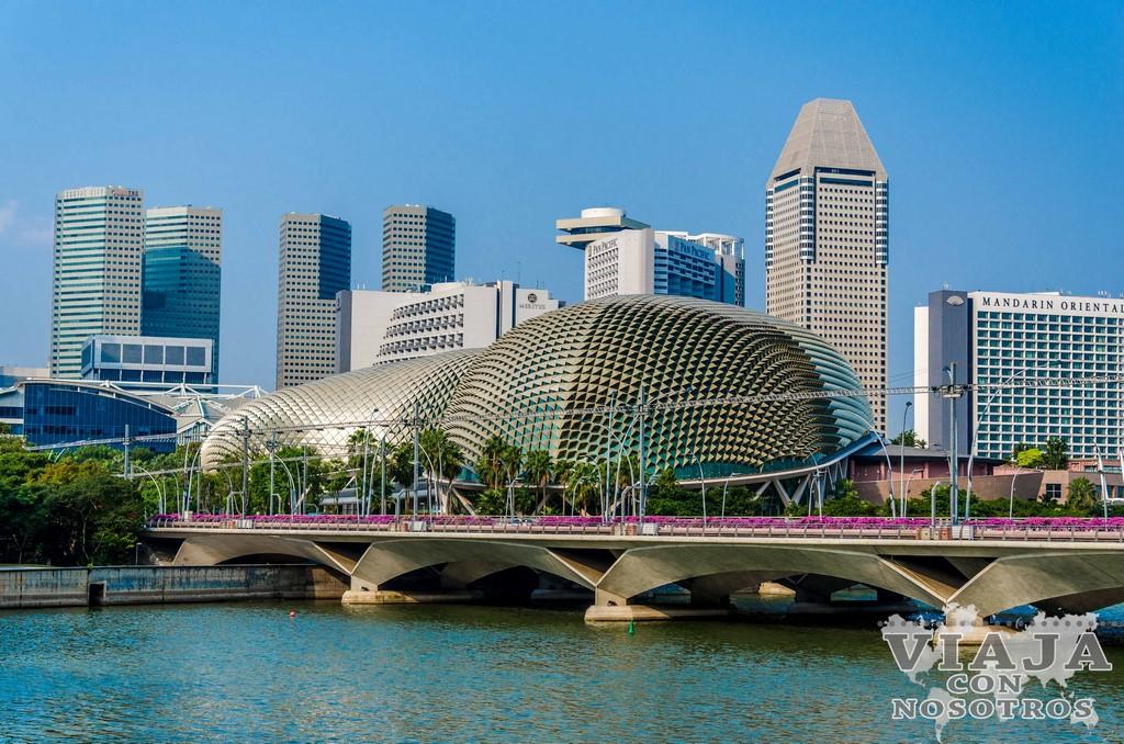 Como llegar al Marina Bay de Singapur
