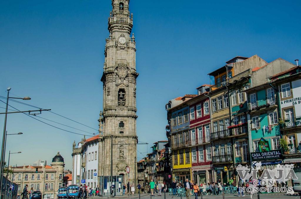 Torre de los Clérigos de Oporto