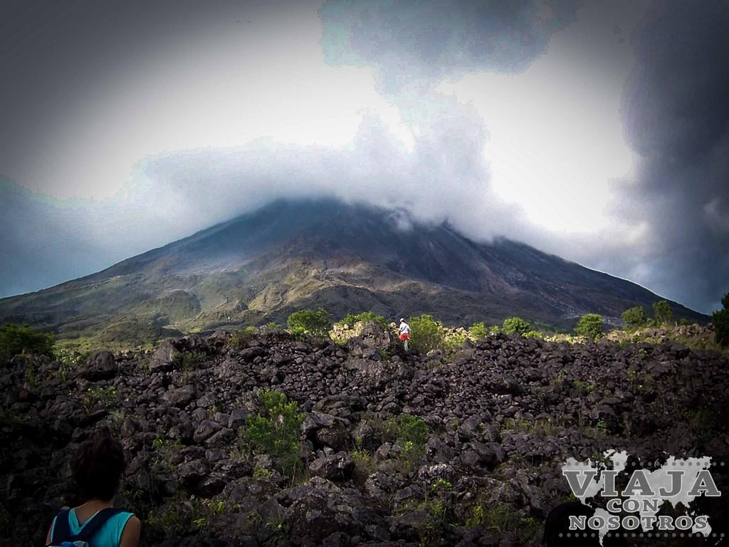 Como visitar el Volcán Arenal