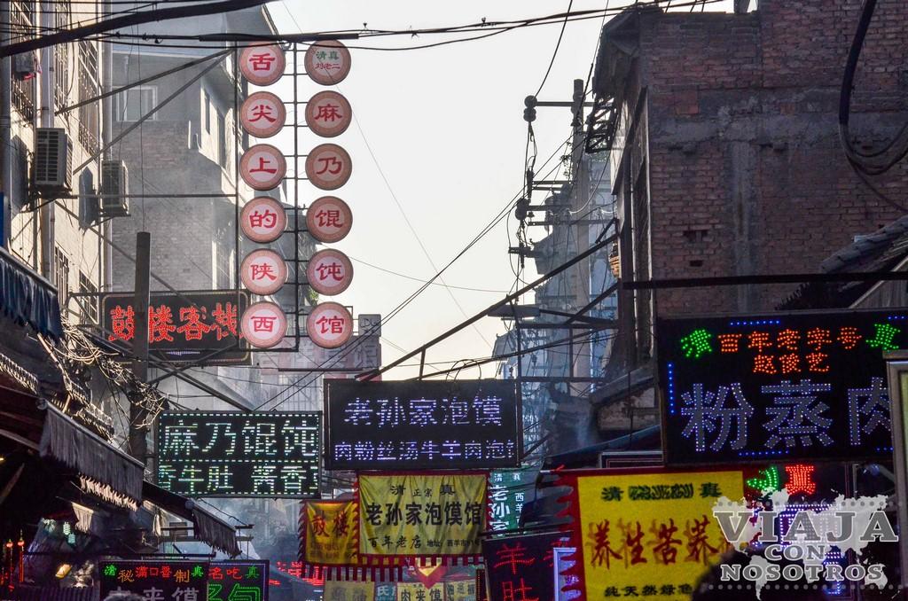 Visitar el barrio musulmán de Xi'an