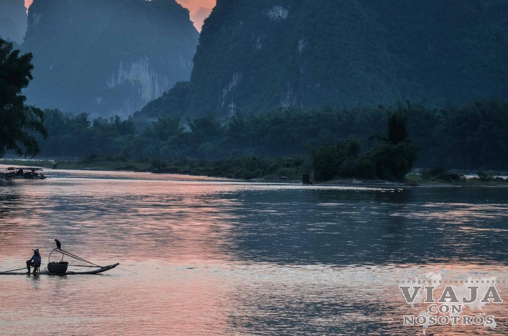 Crucero desde Guilin hasta YangShuo por el río Li