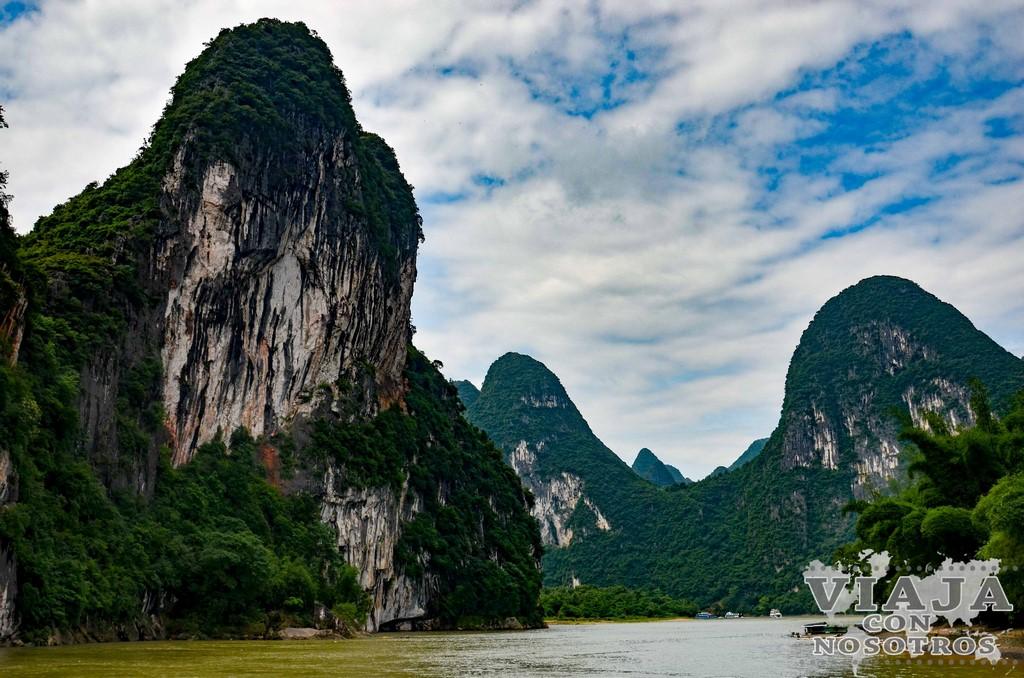 Como navegar por el río Yangshuo