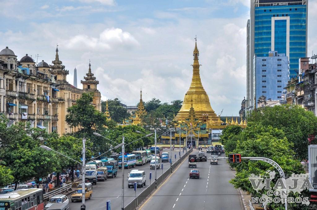 Como moverse en Yangon