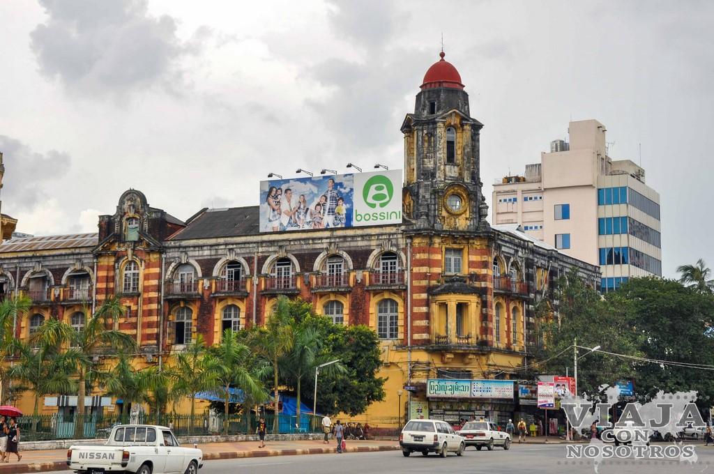 Que ver en Yangon en dos días