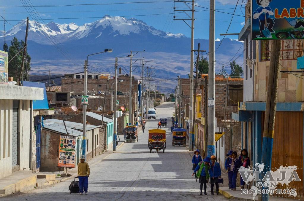 De Arequipa al Cañón del Colca