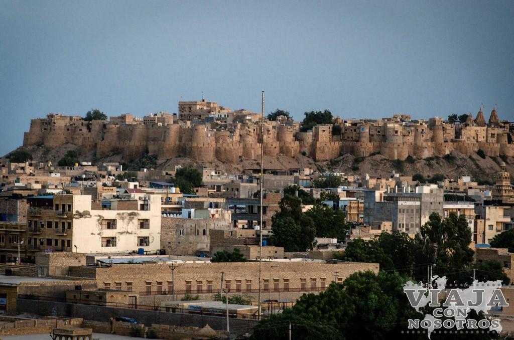 Como ir de Bikaner a Jaisalmer
